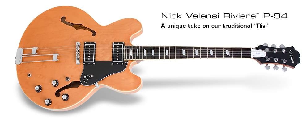 Nick Valensi Riviera P94: A unique take on our traditional Riv