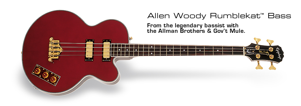 Allen Woody Rumblekat: From the legendary bassist with the Allman Brothers &amp; Gov&#39;t Mule