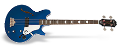 Ltd. Ed. Jack Casady Blue Royale Bass