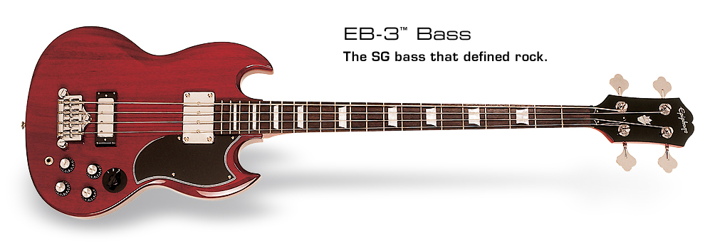 EB-3: The SG bass that defined rock