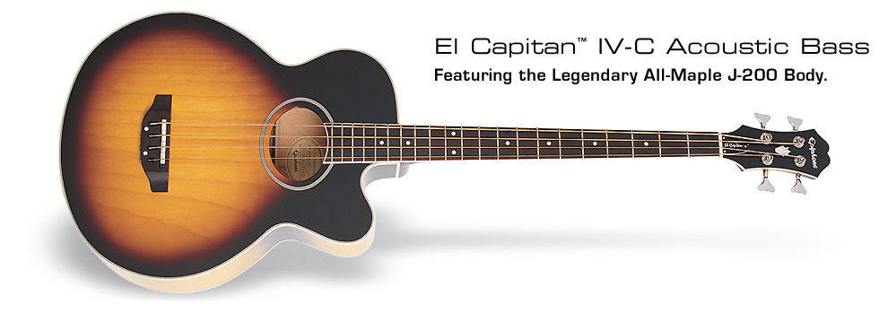 El Capitan: Featuring the Legendary All-Maple J-200 Body