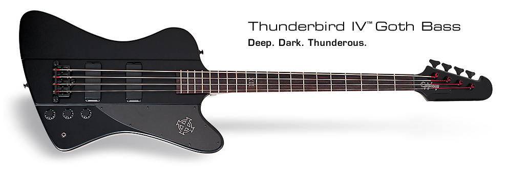 Goth Thunderbird-IV: Deep. Dark. Thunderous.