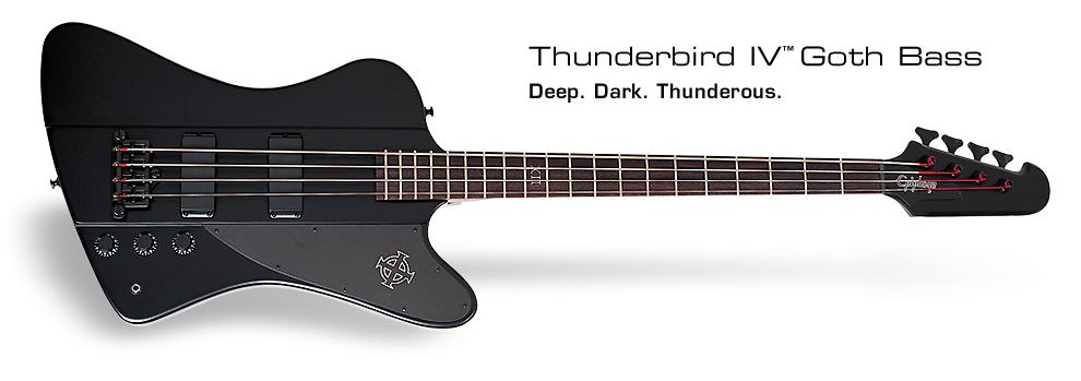 Goth Thunderbird-IV: Deep. Dark. Thunderous.