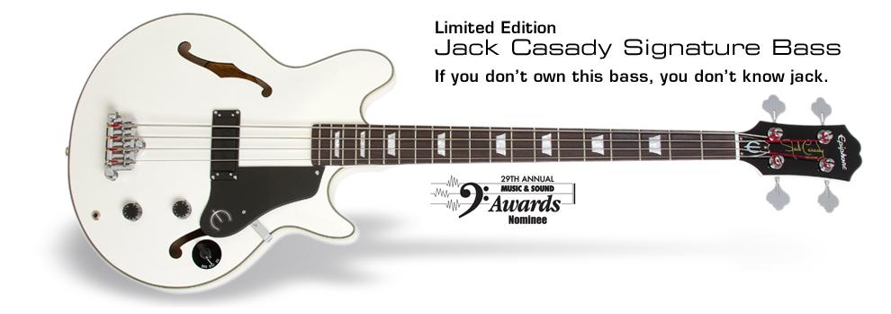 Ltd Ed Jack Casady Signature Bass: