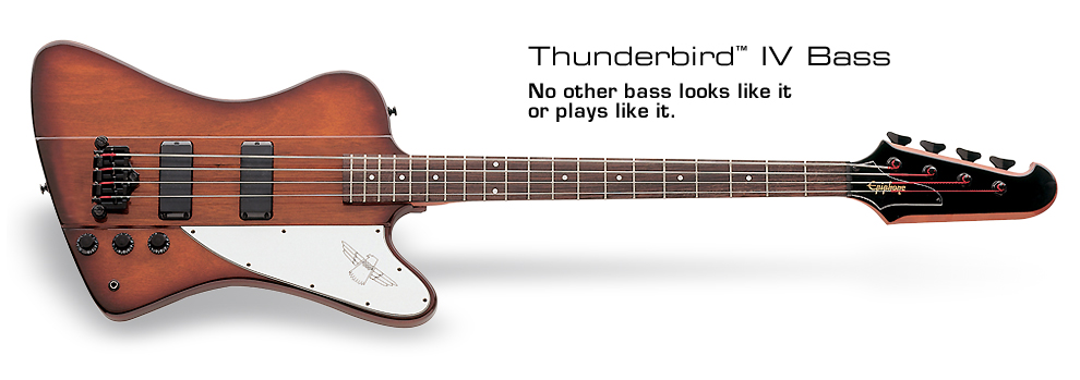 Thunderbird-IV: No other bass looks like it or plays like it
