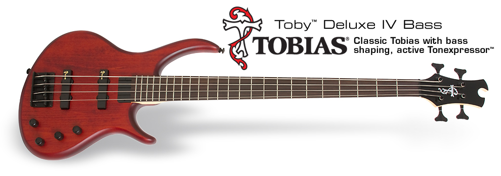 Toby Deluxe IV: Classic Tobias with bass shaping, active Tonexpressor
