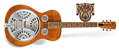 Dobro Hound Dog Del. Round Neck