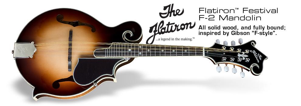 Flatiron Festival F-2 Mandolin: