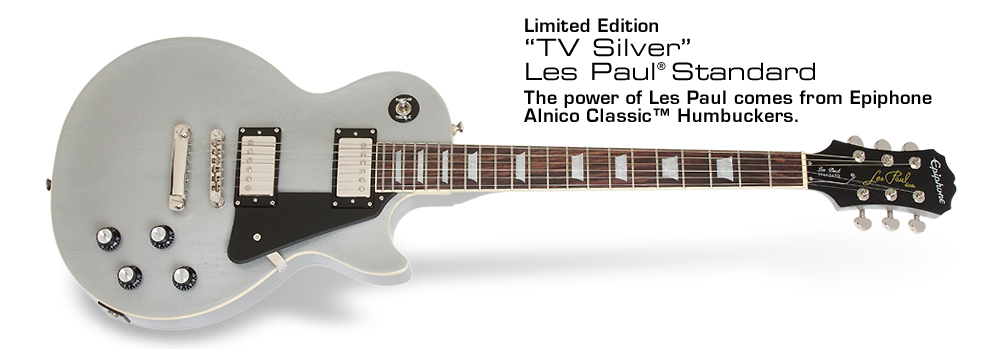TV Silver Les Paul Standard: