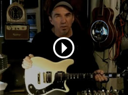 Epiphone Wilshire Phant-o-matic - Demo Video