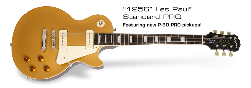 1956 Les Paul Standard PRO: Featuring new P-90 PRO pickups!