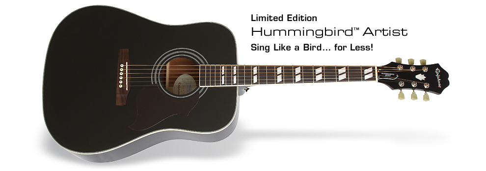 Ltd. Ed. 2014 Hummingbird Artist: Sing Like a Bird… for Less!
