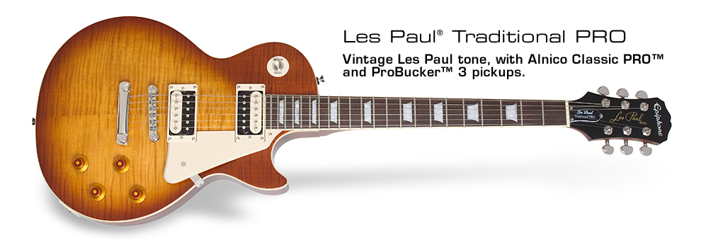 Ltd. Ed. 2014 Les Paul Traditional PRO: Les Paul Tradition Combined with Professional Features!