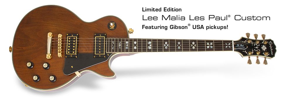 Ltd. Ed. Lee Malia Les Paul Custom: