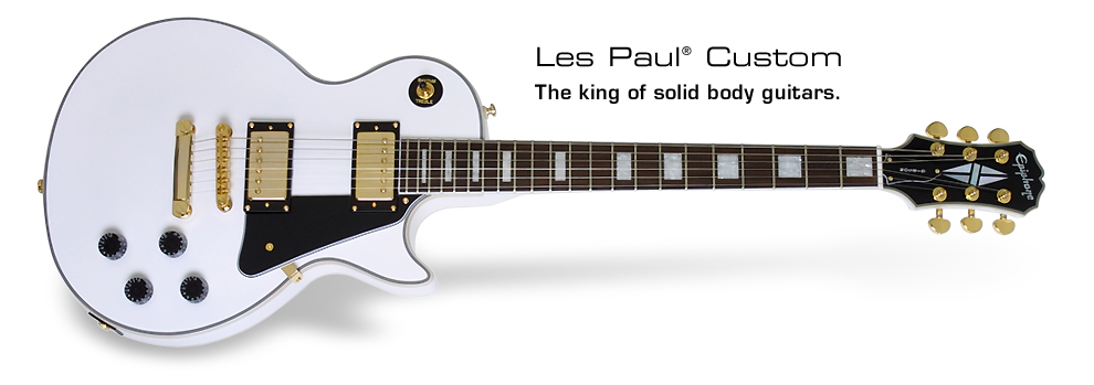 Les Paul Custom: The king of the solid body guitars