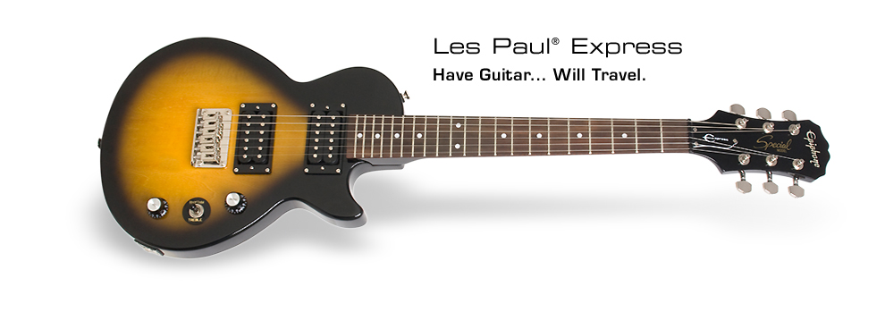 Les Paul Express: Have Guitar... Will Travel.