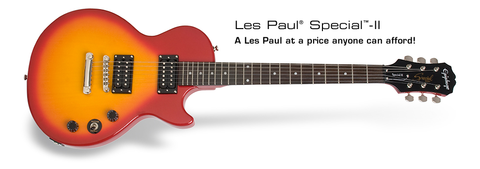 Les Paul Special II: A Les Paul at a price anyone can afford!