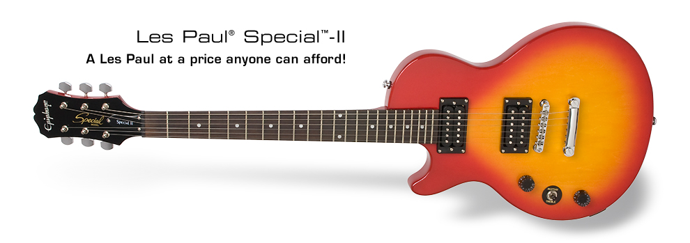Les Paul Special II (LH): A Les Paul at a price anyone can afford!