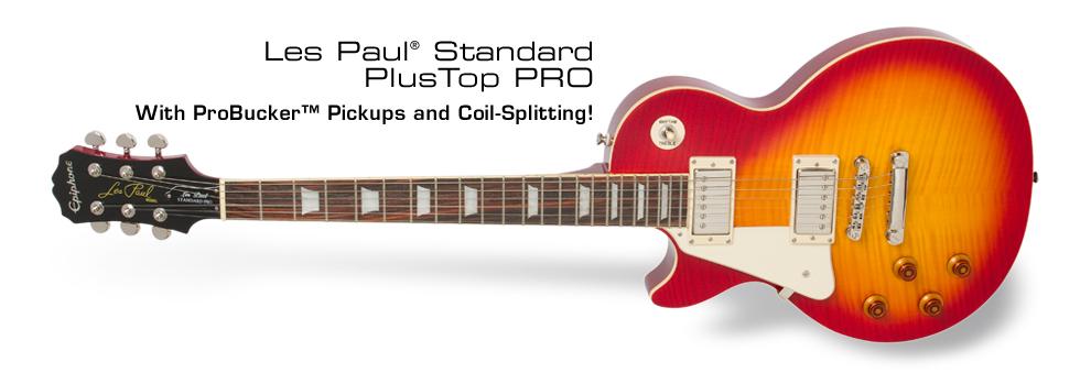 Les Paul Standard Plustop PRO (LH):