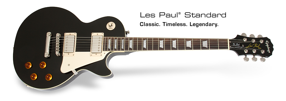 Les Paul Standard: Classic. Timeless. Legendary.