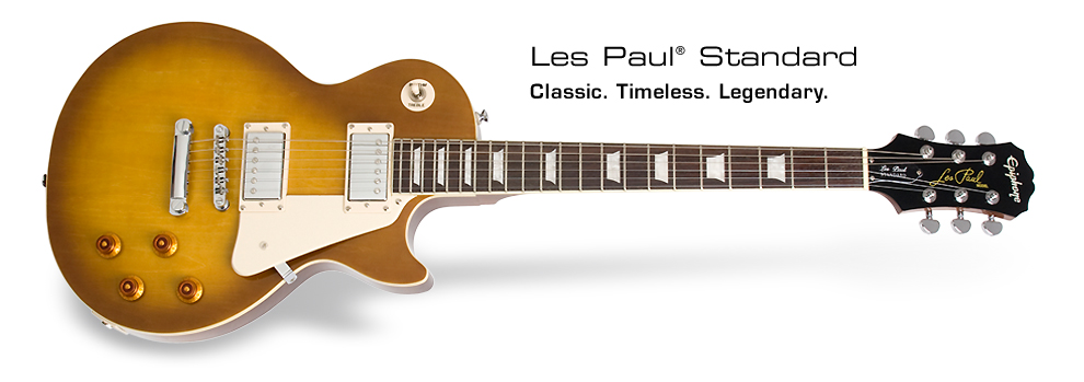 Les Paul Standard Plaintop: Classic. Timeless. Legendary.