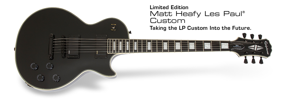 Matt Heafy Les Paul Custom: 