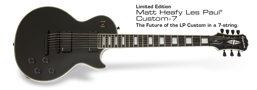 Matt Heafy Les Paul Custom-7: