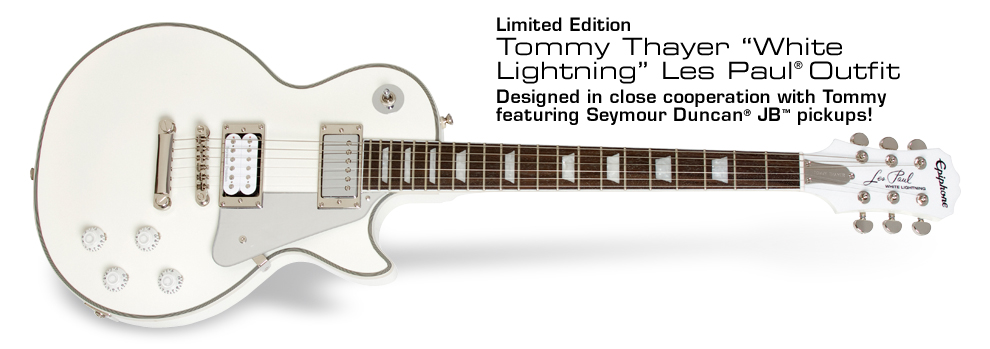 "Tommy Thayer ""White Lightning"":"