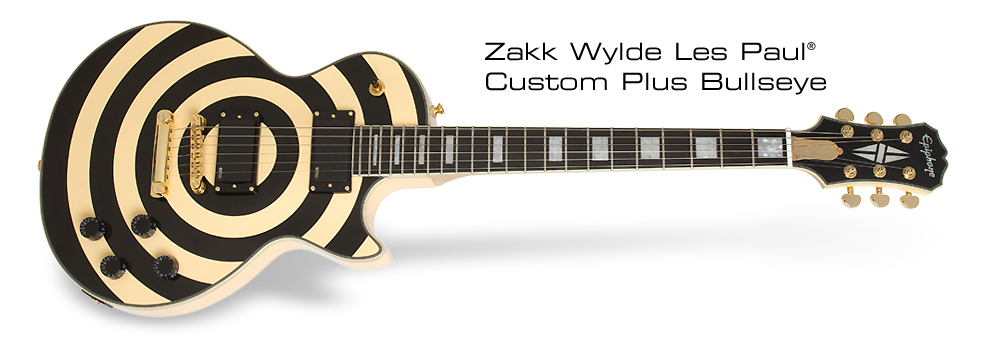 Case Design rock phone cases : Epiphone Zakk Wylde Les Paul Custom Plus Bullseye