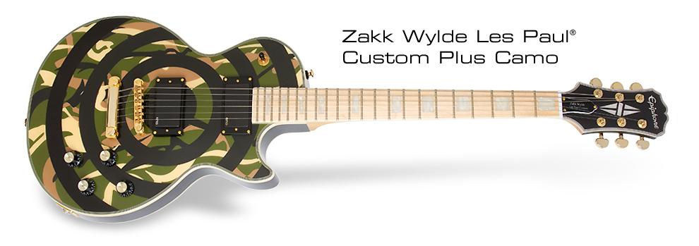 Zakk Wylde Custom Bullseye Camo:
