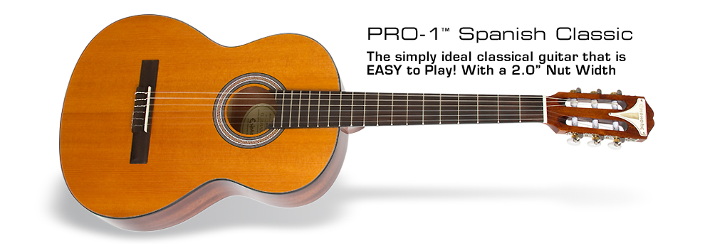 "PRO-1 Spanish Classic: ""Classical"" style meets PRO-1 Innovation"