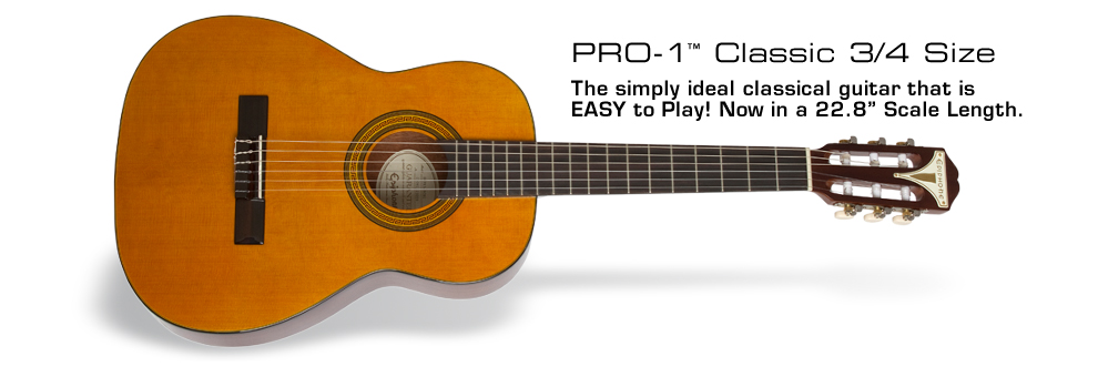 PRO-1 Classic 3/4-Size: A Reduced size Classical with Big Tone and PRO-1 Features