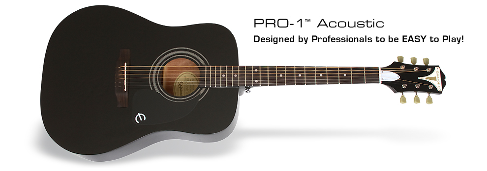PRO-1 Acoustic: Only Air Guitar is Easier to Play!