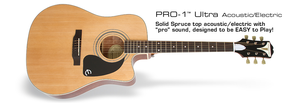 PRO-1 Ultra Acoustic/Electric: Plug in with the Shadow® Performer™ preamp and NanoFlex™ pickup system!
