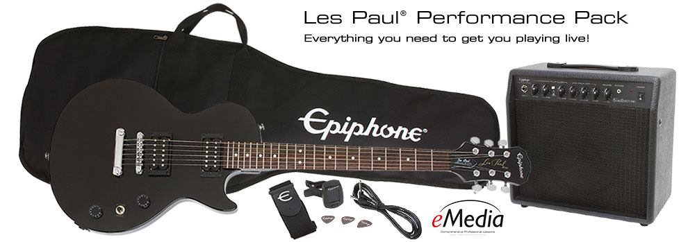 Les Paul Performance Pack: