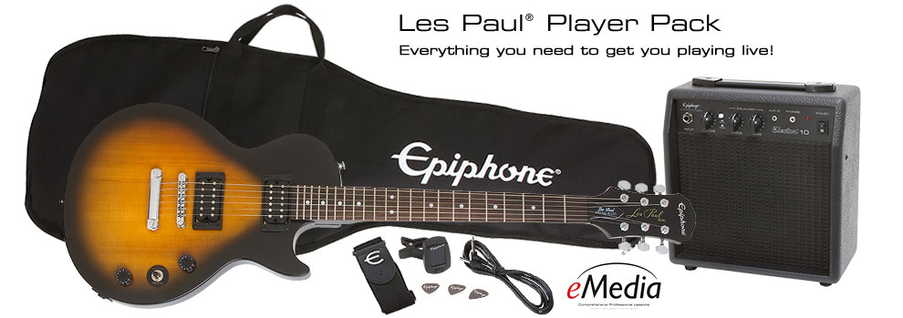 Les Paul Player Pack: