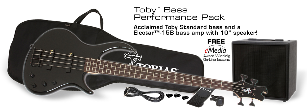 Toby Bass Performance Pack: