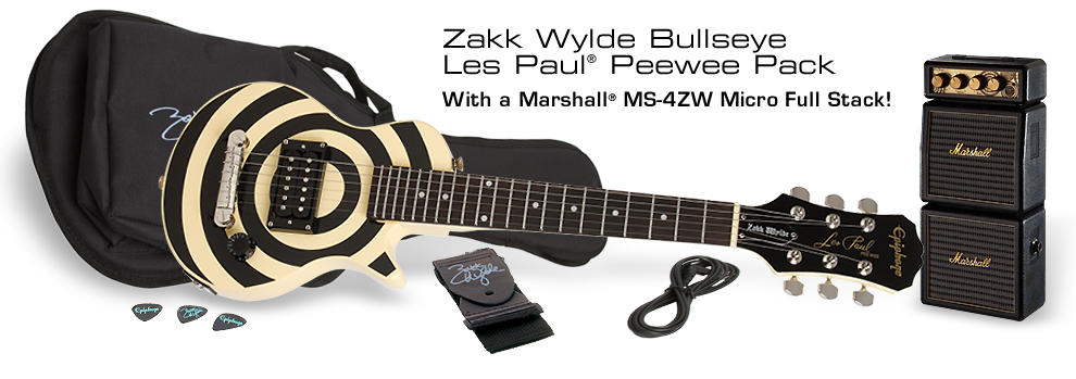Zakk Wylde Les Paul Peewee Pack