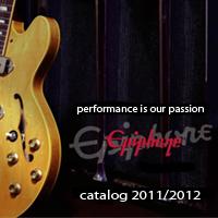 Epiphone Catalog - 2011-2012
