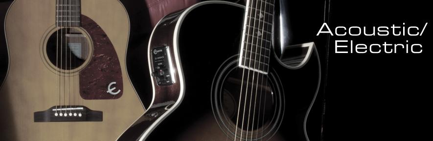 Epiphone Acoustic/Electric Guitars